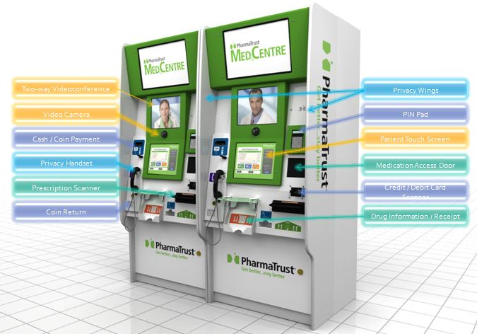 Musing Kiosk Based Healthcare Delivery Medical