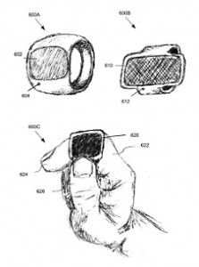 Apple Biosensor Ring Depiction
