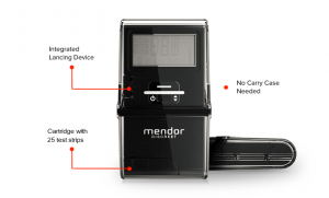 Mendor's 3G-Enabled Wireless Blood Glucose Meter